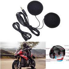 Motorrad Helm Kopfhörer Superflache Stereo Lautsprecher mit Lautstärkeregelung