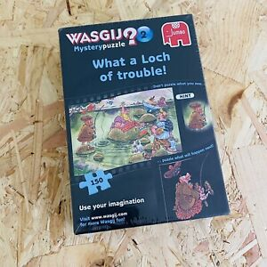 Wasgij Mystery No. 2 What A Loch Of Trouble 150 Piece Jigsaw Puzzle - Brand New