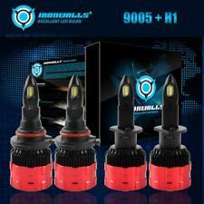 For Nissan Altima 2002-2006 4x 9005 & H1 Headlight Combo High Low Beam LED Bulbs