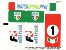 LEGO 8678 - Cars - Ultimate Build Francesco - STICKER SHEET