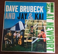 DAVE BRUBECK AND JAY & KAI AT NEWPORT~CL932/1956