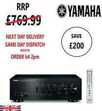 Yamaha A-S801 Stereo Integrated Amplifier With Built-in DAC, Optional Bluetooth