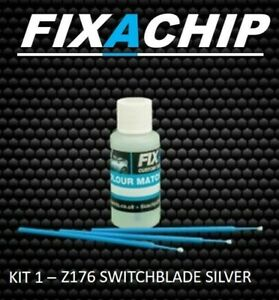VAUXHALL CAR TOUCH UP PAINT - CODE Z176 - SWITCHBLADE SILVER (KIT 1)