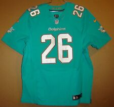 MIAMI DOLPHINS LAMAR MILLER #26 Aqua NFL AUTHENTIC Nike Size 52 JERSEY