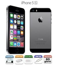 APPLE iPhone 5S 16gb GRADO A COME NUOVO +GARANZIA GRIGIO SIDERALE SPACE GREY