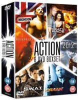 2012/Backdraft/Bronson / Crank / Death Race 2 / S W A T DVD Nuovo DVD (8286350