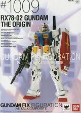 Used Origin Fix Figuration Metal Composite #1009 RX78-02 Gundam Painted