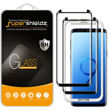 2X Supershieldz Full Cover Tempered Glass Screen Protector for Samsung Galaxy S9