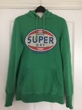 SUPERDRY Green Jumper Hoodie Size Medium
