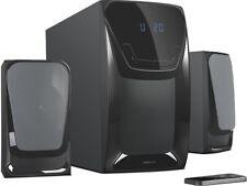 SPEEDLINK EUFONIA 2.1 Subwoofer System Boxen Stereo Lautsprechersystem Musik