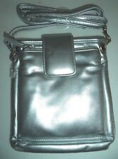 Rolf's Megan Crossbody Metallic Bag,Silver