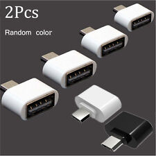 2pcs OTG Adapter Host Converter Micro USB Male to USB 2.0 For Android Tablet