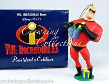 Grolier Pixar Mr. Incredible President's Edition Ornament The Incredibles Disney