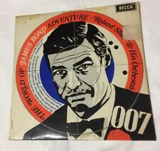 Roland Shaw vinyl LP album record The World Of James Bond Adventure UK SPA158