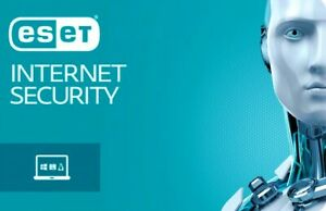 ESET nod32 antivirus internet security 2 years for 1 to 3 devices