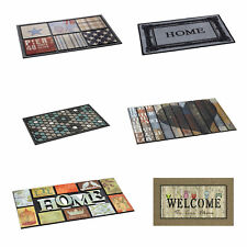 Polyamide Ecomat Rubber Backing Washable Doormat Rug Carpet