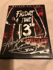 FRIDAY THE 13TH UNCUT DVD SIGNED BY ADRIENNE KING - ALICE w/LENTICULAR COVER R1
