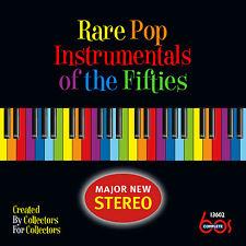 New CD Rare Pop Instrumentals Of The Fifties 31 Tracks 21 CD Debuts 2015 Rel 50s
