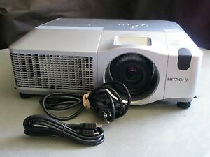 HITACHI CP-X809 LCD PROJECTOR, 5000 LUMENS, HDMI, LOW HOURS! (NEW LAMP OPTION)