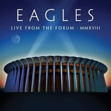 EAGLES LIVE FROM THE FORUM MMXVIII 2 CD SET (New Release 16/10/20) IN STOCK
