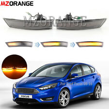 Dynamic Rear View Mirror Light For Ford Focus 2008-2016 Sequential Turn Signal