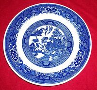 """Willow Ware By Royal China Oriental COLLECTOR PLATE - VINTAGE- 7 1/4"""" D"""
