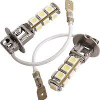 2X H3 LAMPE AMPOULE 5050 SMD 13 LED BLANC POUR VOITURE WT