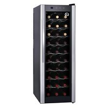 Igloo FRW312 30-Bottle Wine Cooler, Silver - Interior Light Equipped