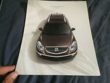 2009 Buick Enclave Color Brochure Catalog Prospekt