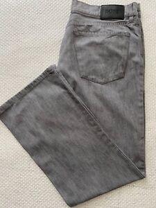 Hugo Boss Houstom (26061) Jeans grau Regulare Fit W 36 L 32 wie neu