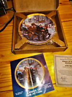 Star Trek Hamilton collectable 24 ct gold plated Piece of the action plate