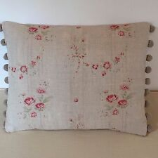 """NEW Kate Forman Bella Fabric 17""""x13"""" Pom Pom or Piped Cushion Cover"""