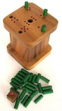 sechs raus - Weg mit der sechs - Warum immer ich - 6 weg - Würfelspiel aus Holz