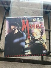 Maniac Elite Director's Cut Laserdisc
