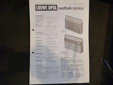 Original Service Manual  Loewe Opta T 93 T91