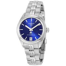 Tissot PR 100 Automatic Blue Dial Ladies Watch T101.207.11.041.00
