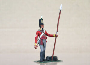 KEN KEARSLEY of ENGLAND STADDEN NAPOLEONIC BRITISH FOOT SOLDIER with PIKE nz