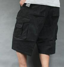Mens Cotton Military Cargo  Casual Shorts Pants Sports Baggy Loose Trousers H225