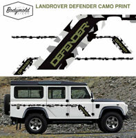 Land Rover Defender CAMO PRINT decals/stickers/stripes