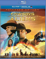Cowboys & Aliens (Blu-ray Disc, 2014, W/Digital Copy; UltraViolet) EXTENDED VERS