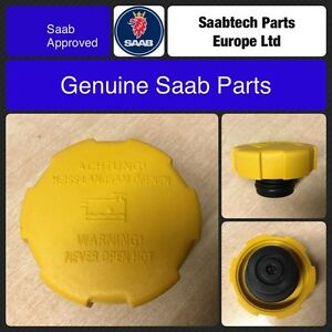 GENUINE SAAB 9-3 EXPANSION/HEADER TANK COOLANT CAP 9202799 - NEW