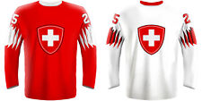 NEW 2020 Switzerland Hockey Jersey JOSI MEIER NIEDERREITER HISCHIER FIALA NHL