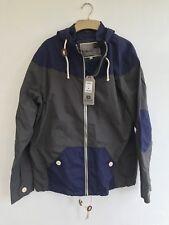 BNWT MENS Blue Inc Jacket Coat Size Medium M NAVY BLUE ANS GREY