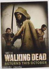 The Walking Dead SDCC 2012 Michonne Official Season 2 Promo Card