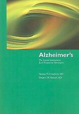 Alzheimer's: The Latest Assessment  &  Treatment Strategies
