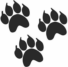 36 Paw Prints Claws 50mm Cat Dog Wall Art Stickers Animals & Insects Hallway Car