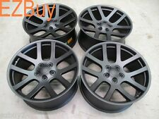 "22"" Dodge Ram 1500 SRT10 Style Set of Four New Satin Black Wheels Rims 2223"