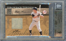 ROGER MARIS 2004 DONRUSS ELITE EXTRA EDITION THROWBACK THREADS #1 BGS 9