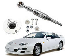FITS ALL NISSAN 300ZX FAIRLADY RACING QUICK SHORT SHIFTER CHROME STAINLESS STEEL