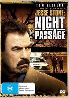 Tom Selleck Night Passage DVD Jesse Stone -  Region 4  Ex Rental
